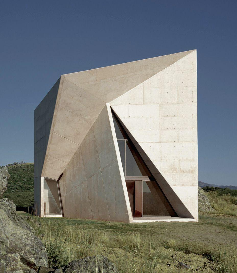 Valleaceron Chapel in Almadén, Ciudad Real, Spain by Sancho-Madridejos Architecture Office