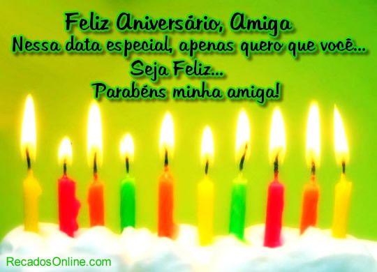 Feliz Aniversario Orkut: Feliz+aniversário+amiga