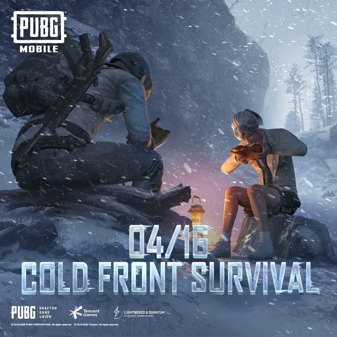 Cold Front Survival Mode Of Pubg Mobile Is Finally Coming On April 16 In 2020 Cold Front Survival Mode Survival