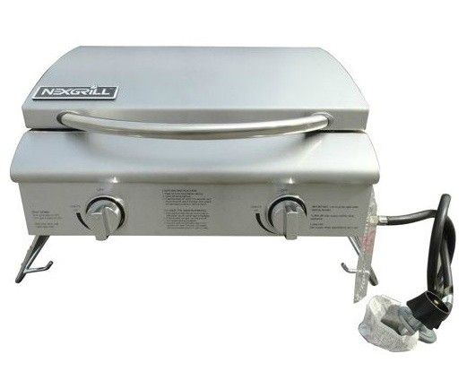 Nexgrill 2 Burner Table Top Gas Grill Outdoor Kitchen Design Outdoor Kitchen Gas Grill