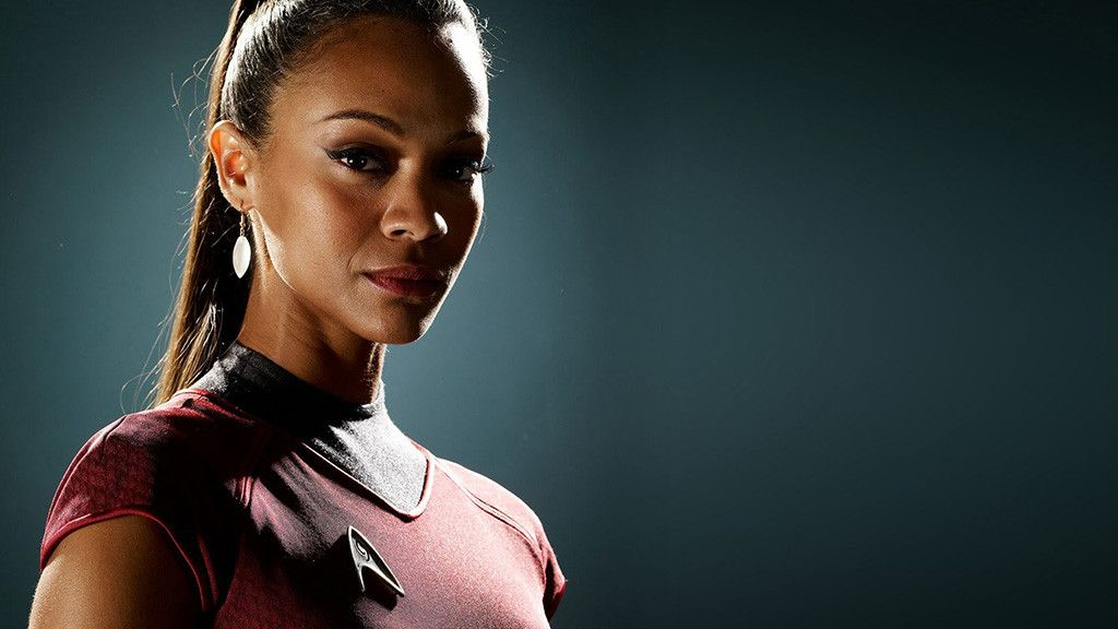 As Lieutenant Nyota Uhura, a communications officer