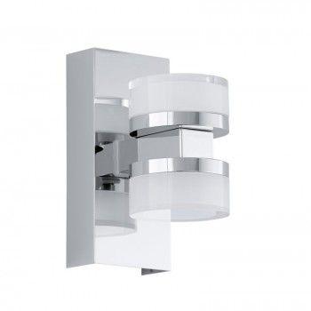 EGLO ROMENDO LED Spiegelleuchte chrom, satiniert-klar Badezimmer - badezimmer led deckenleuchte ip44