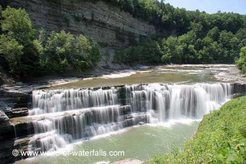 Lower Falls of the Genesee River (Letchworth State Park, New York, USA) (SEEN IT, 2013) #letchworthstatepark Lower Falls of the Genesee River (Letchworth State Park, New York, USA) (SEEN IT, 2013) #letchworthstatepark