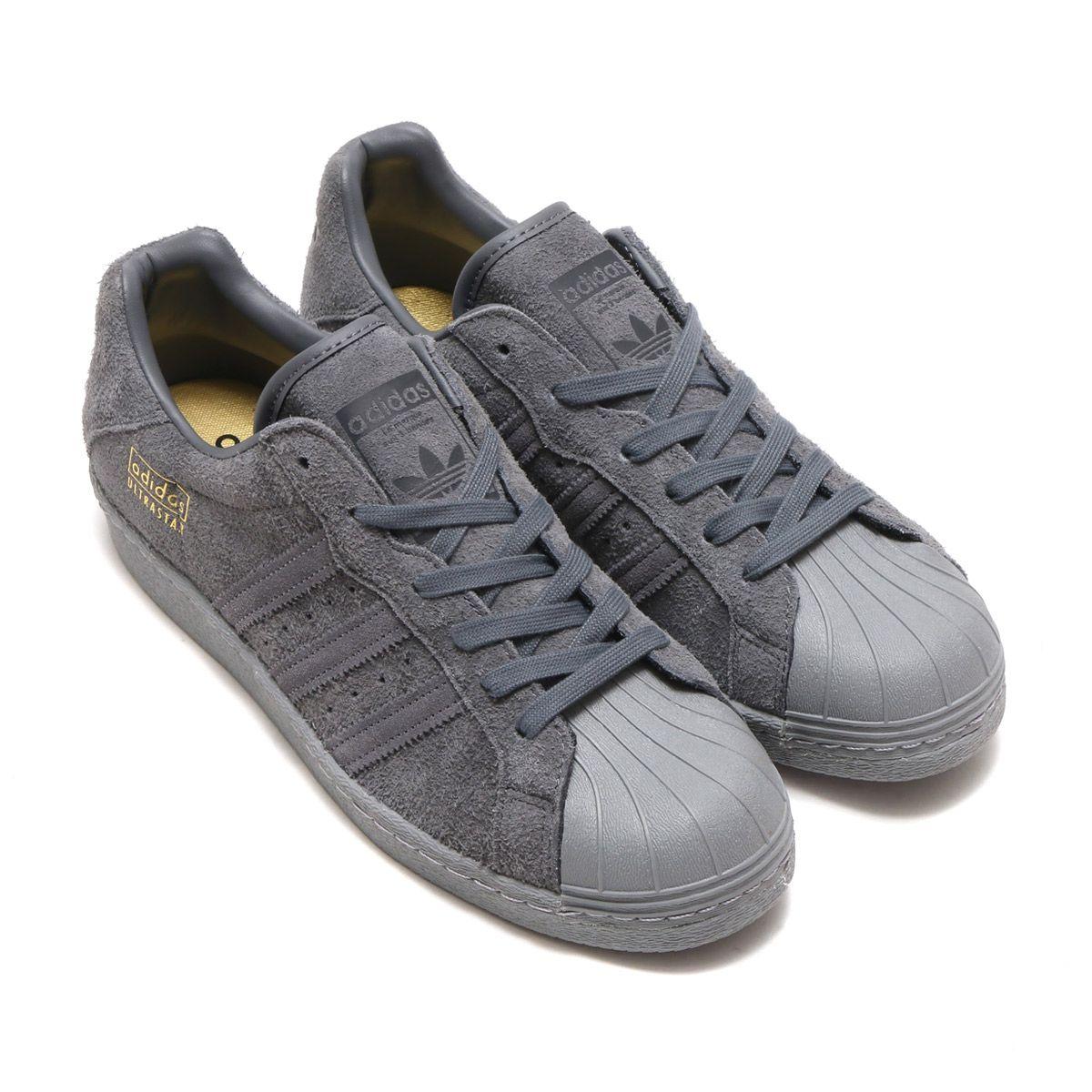 adidas originali ultrastar 80 grey 5 / utilità nero / grigio - 3