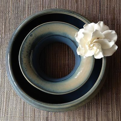 Up For Auction Is A Handmade Pottery Pansy Flower Ring Vase It Was Made By Tumbleweed Pottery It Is Great For Displayin In 2020 Pansies Flowers Pansies Flower Ring