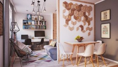 Hermoso apartamento en 40 m2