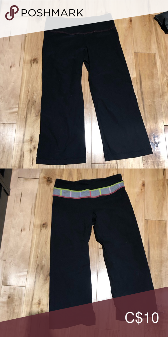 👠Lululemon Capri black