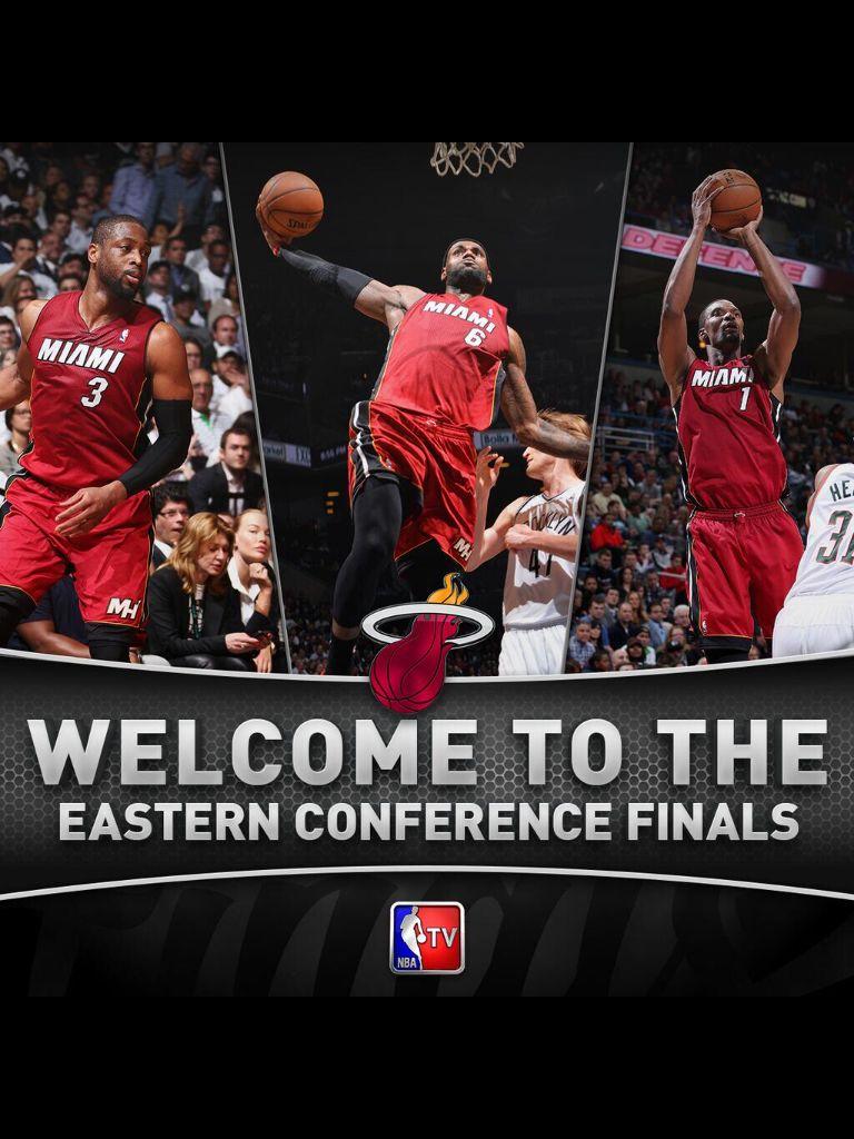 TeamHeat HeatNation Eastern conference finals, Miami heat