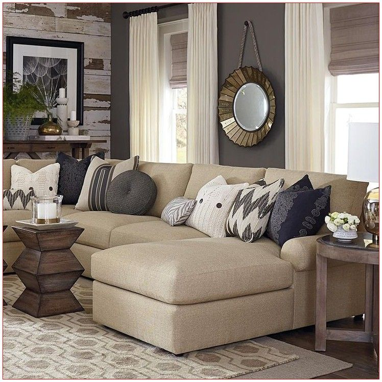 23 Best Beige Living Room Design Ideas For 2020: Drapes For Living Room Accent Colors In 2020