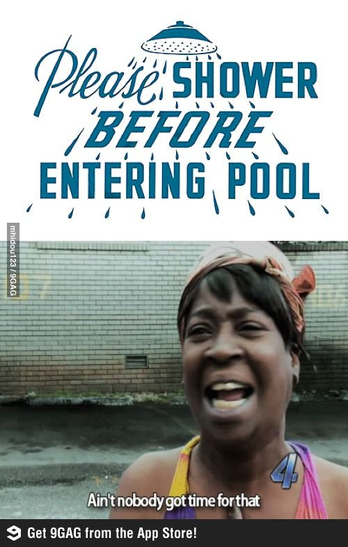 Ain T Nobody Got Time For Dat Swimming Funny Swimming Memes