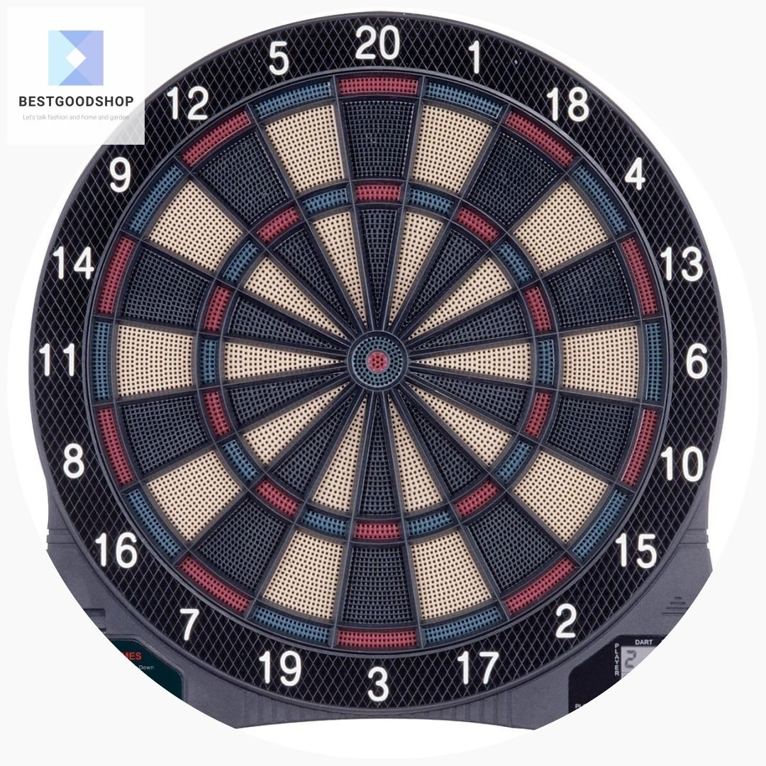 Electronic Dartboard Dart Game with 6 SoftTip Darts (With