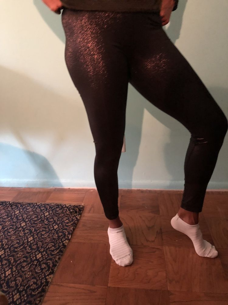 54cf21c42f1ed NIKE Pro Sparkle Women's Training Leggings Metallic Black Bronze Medium  #fashion #clothing #shoes #accessories #womensclothing #activewear (ebay  link)