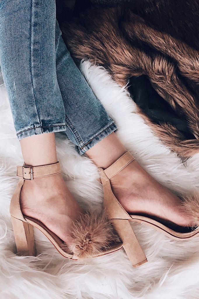 Daria Fur Heel