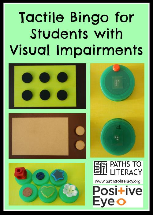 Tactile Bingo Early Childhood Emergent Literacy Visually