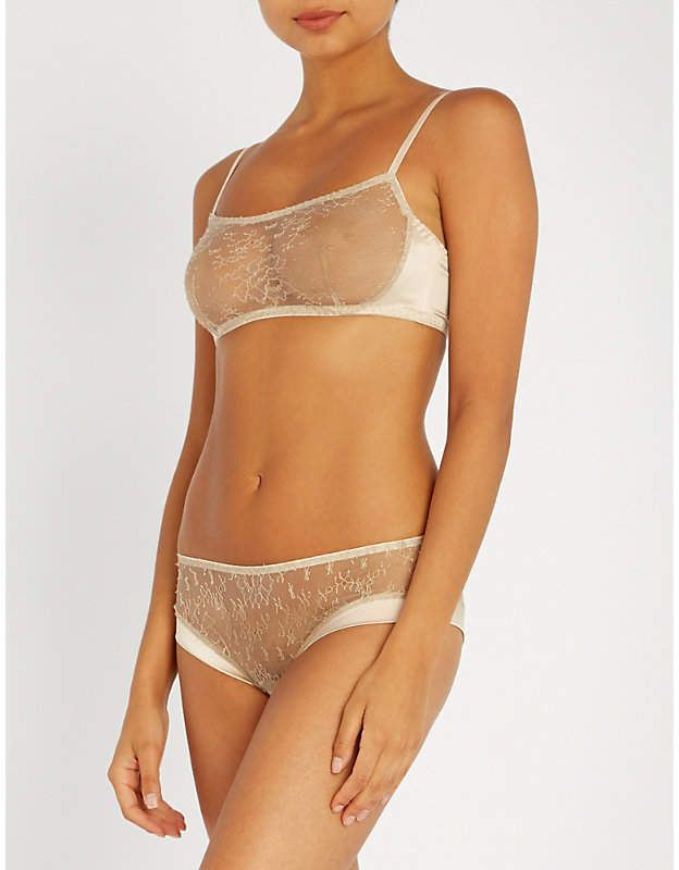 6e9b238fe28 Myla Darling Row lace and satin bralette