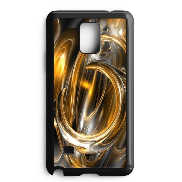 Gold Abstract Samsung Galaxy Note Edge Case