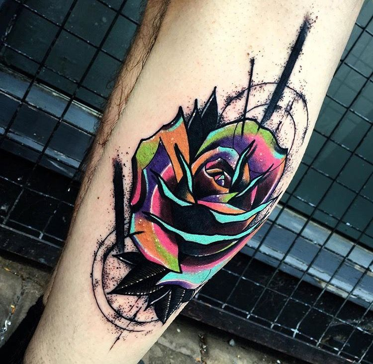 Andrew Marsh LittleAndy rose tattoo