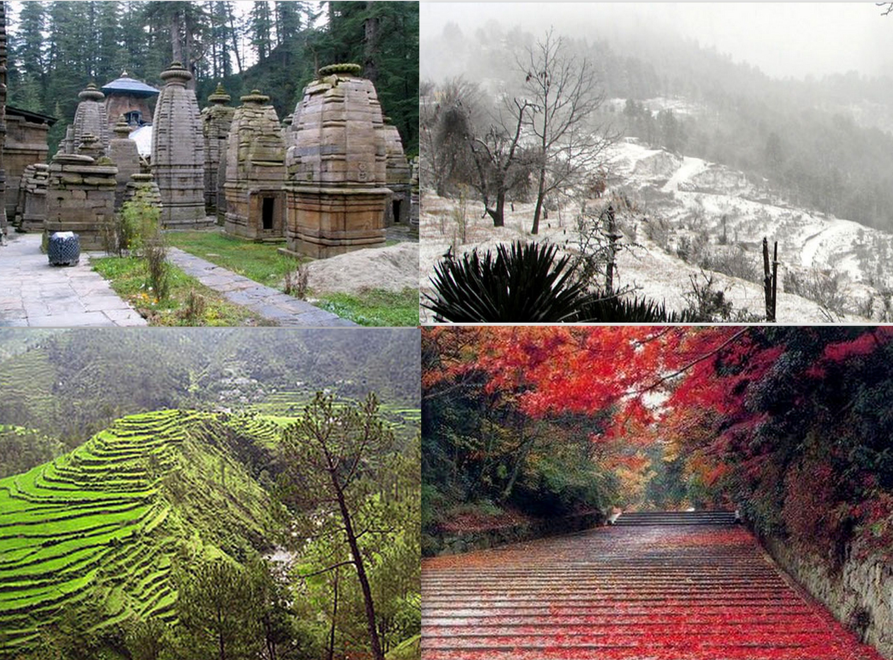 Almora  Almora located in the state of Uttarakhand is not just a scenic wonder, it is also one of the richest hill stations in the country in terms of cultural heritage. This place was frequently visited by Swami Vivekananda, who loved to meditate here and write his famous speeches from here.
