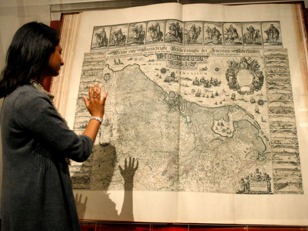 The Klencke Atlas (cica 1660) at the British Library. This giant ...