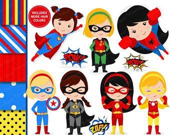 superhero cliparts supergirl clipart super hros fille clipart clipart flash costume de - Super Heros Fille