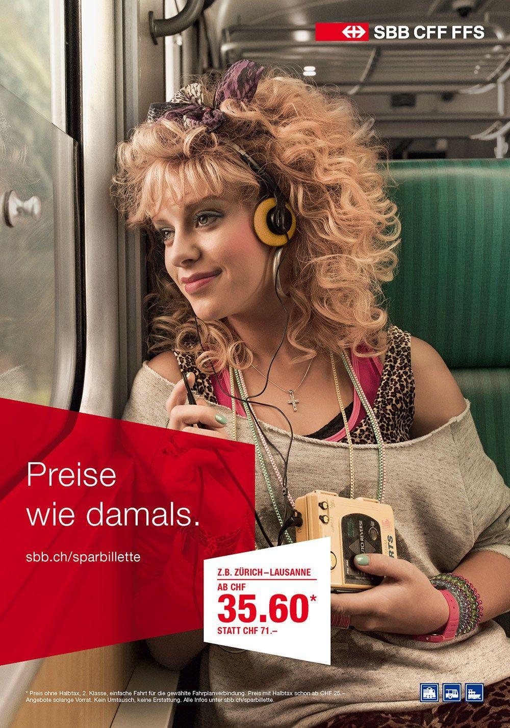 Aus der «Sparbillette»-Kampagne für die SBB. Infos: http://www.maxomedia.ch/projekte/sbb-preiskampagne/