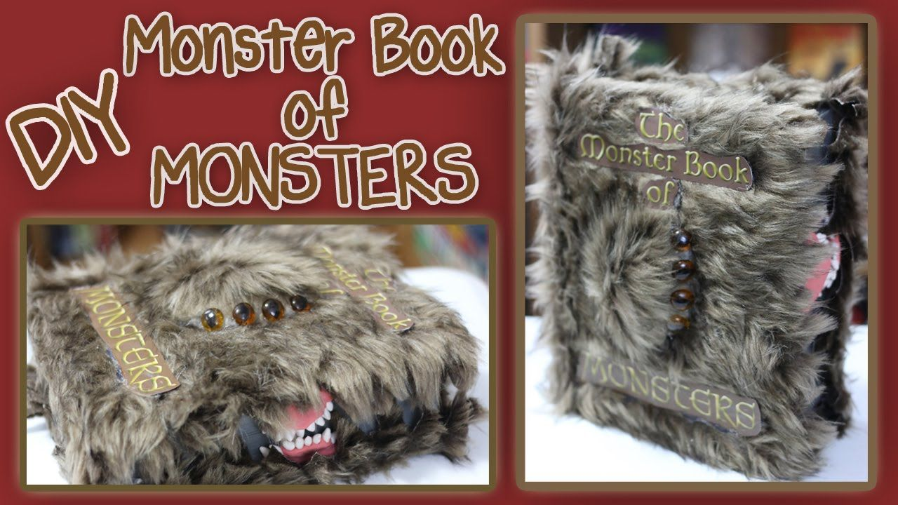 It's the Monster Book of MONSTERS!!! Straight out of Harry Potter and the Prisoner of Azkaban! Make your own! If you can handle taking care of one! Eeek! Don...