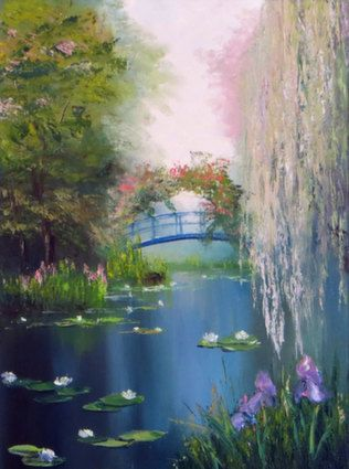 пруд с лилиями сахоров