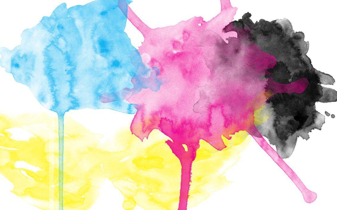 Cmyk Watercolor Wallpaper By Brianlechthaler On Deviantart