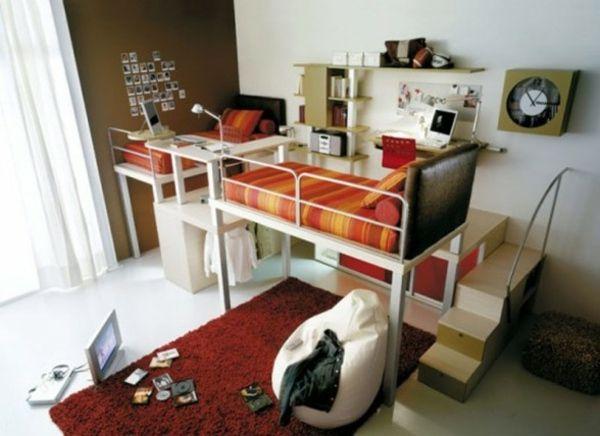 Idee-kleines Teenager Schlafzimmer | kinderzimmer | Pinterest ... | {Kinderzimmer ideen für kleine zimmer 94}