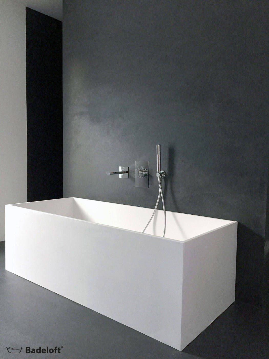 Freistehende Mineralguss Badewanne Bw 06 Modern Von