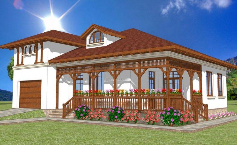 Proiecte de case in stil neoromanesc traditional mi ar placea