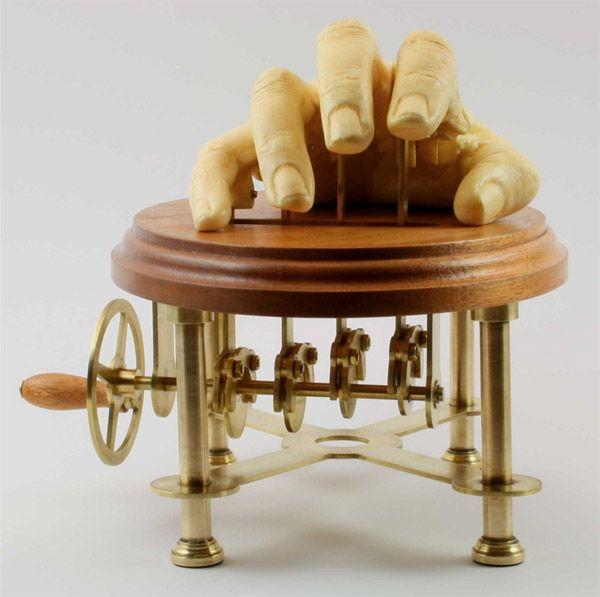 Pin On Wooden Automata