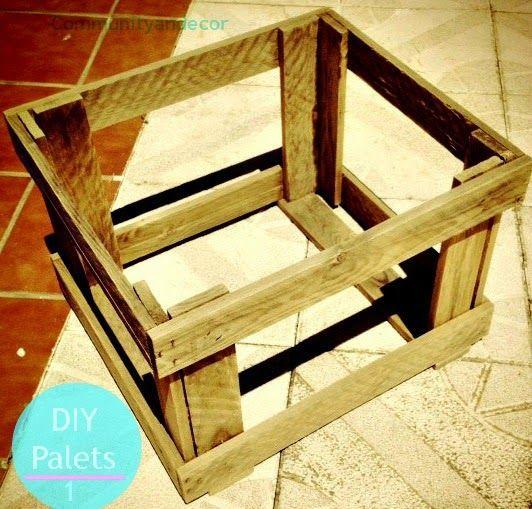4 pasos facilísimos para hacer tu mesa de palets Jardín reciclado