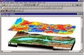 إظهار الخرائط بشكل ثلاثي الأبعاد على برنامج Mapinfo