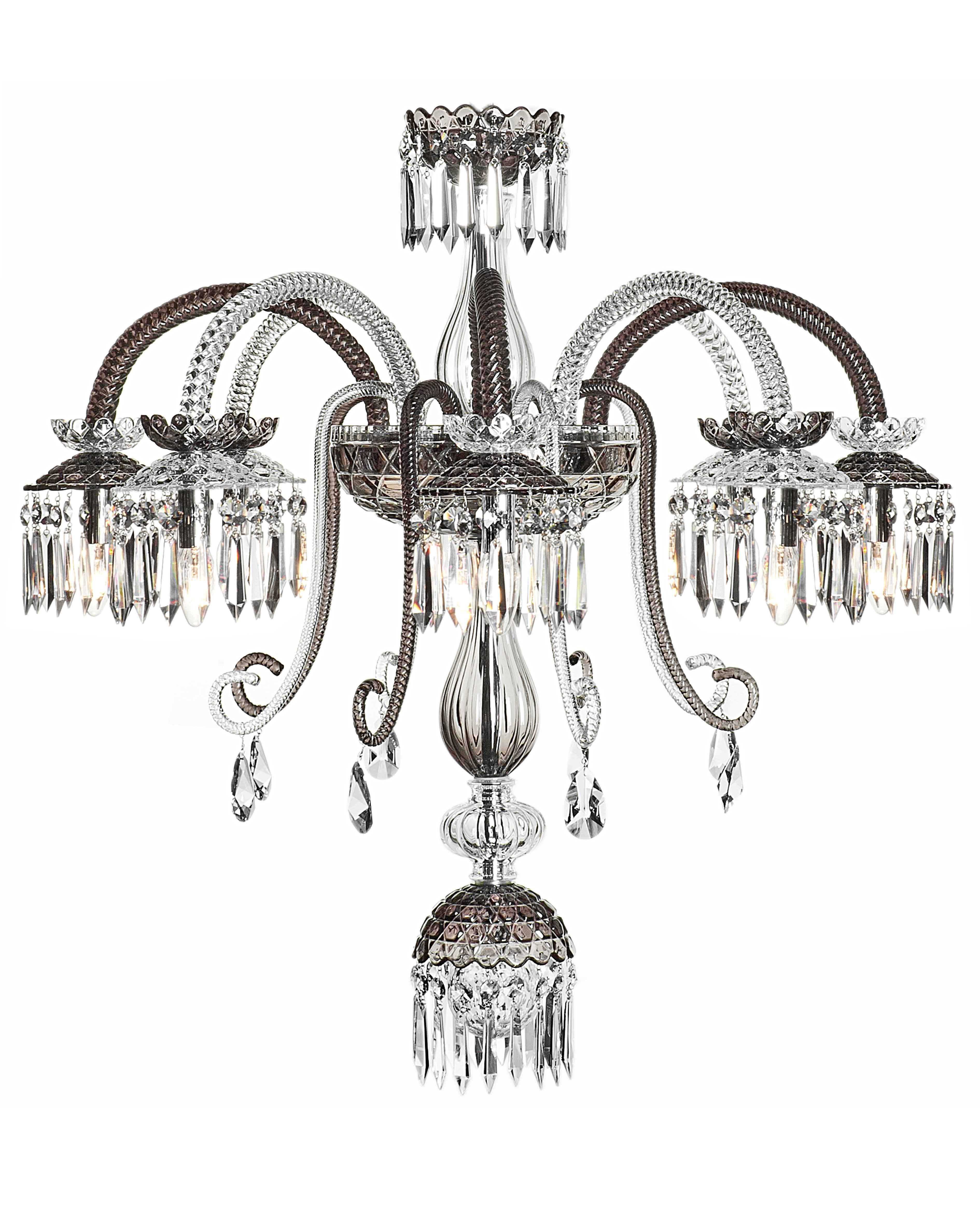 Lustre renversant clair et flanelle 8l saint louis agentia lighting design from agentia uk and saint louis french crystal manufacturer arubaitofo Image collections