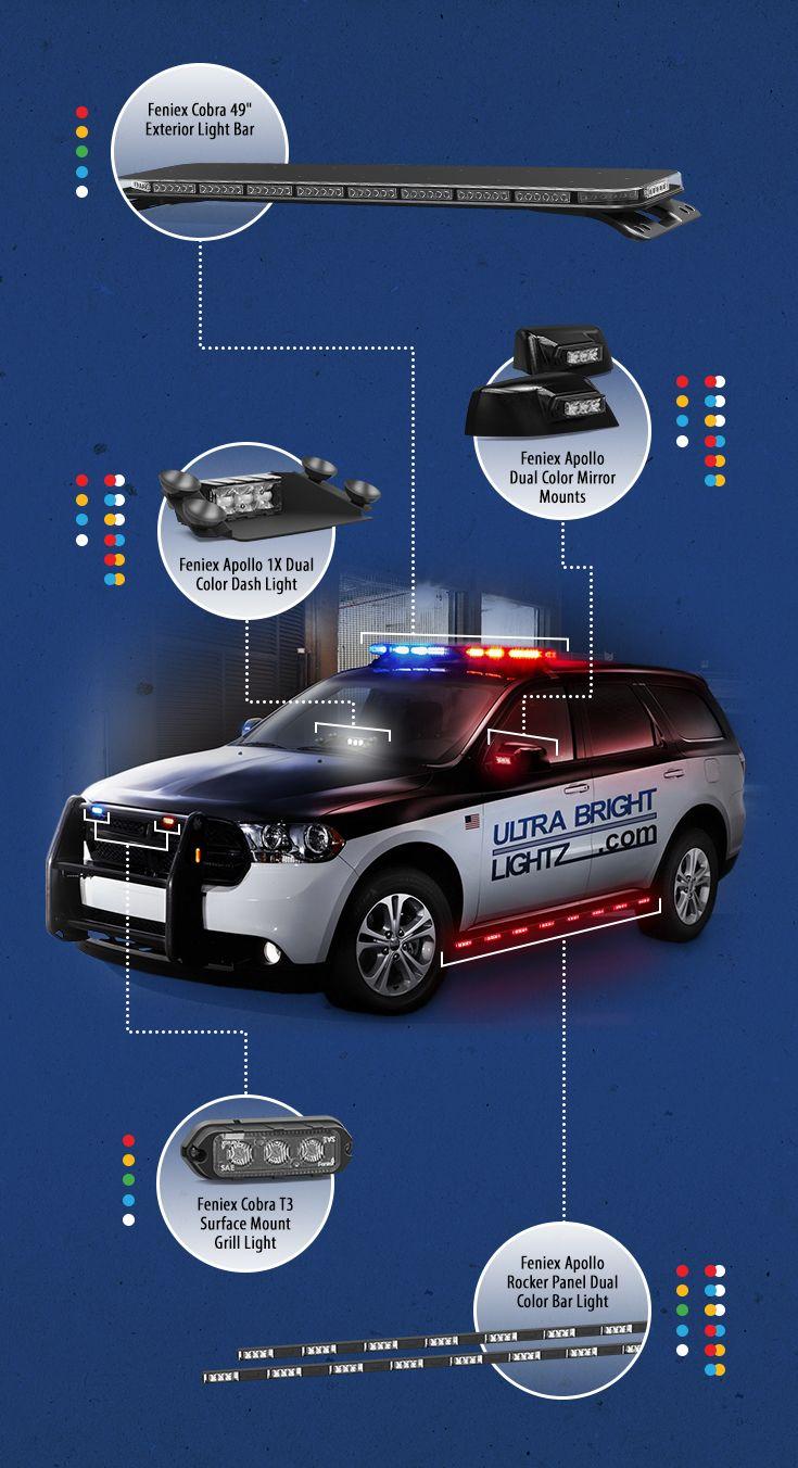 Ultra Bright Lightz Emergency Vehicle Warning Lights At A Great