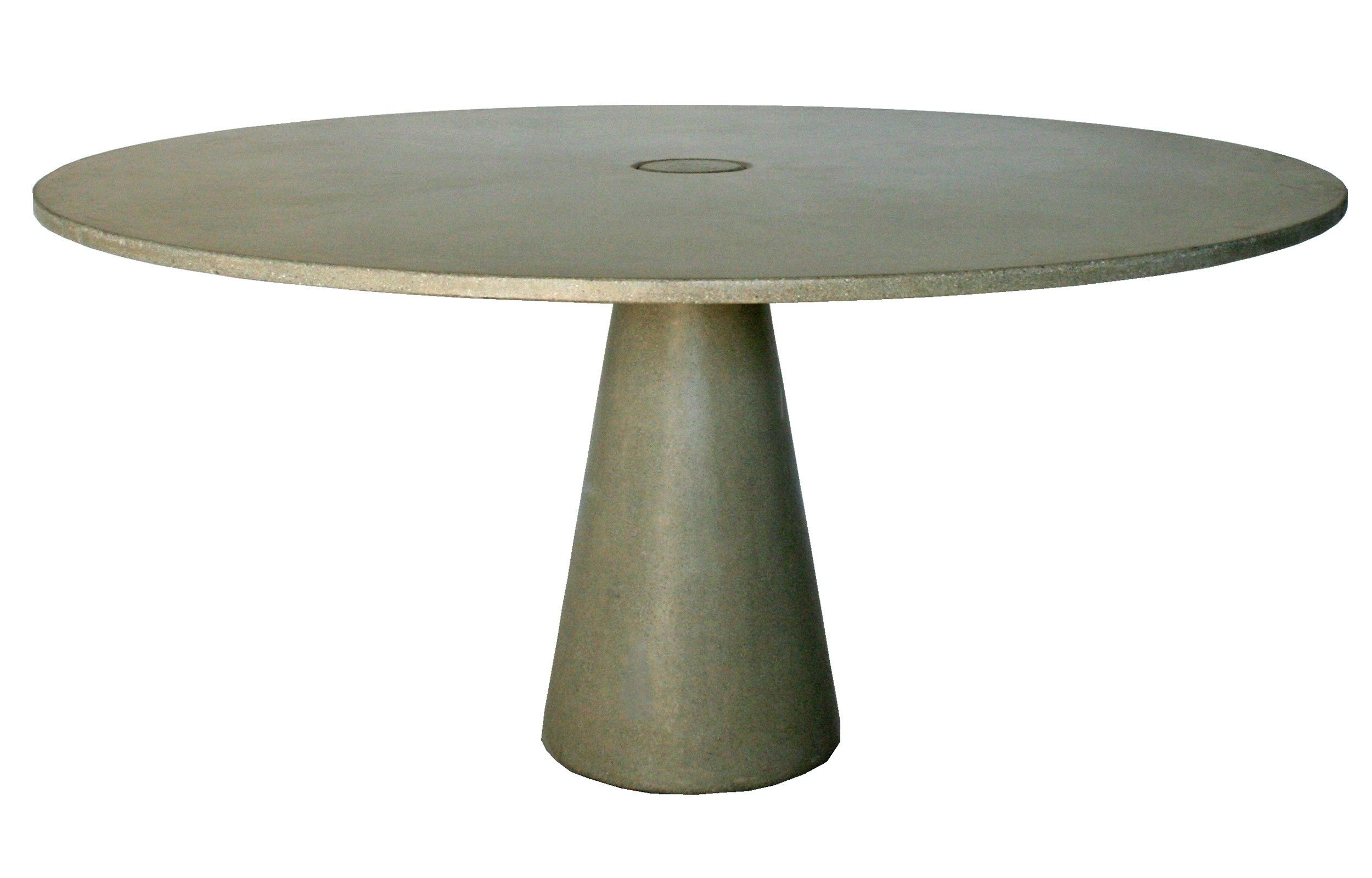 James De Wulf Locking Round Dining Table Concrete Dining Table Dining Table Round Concrete Dining Table