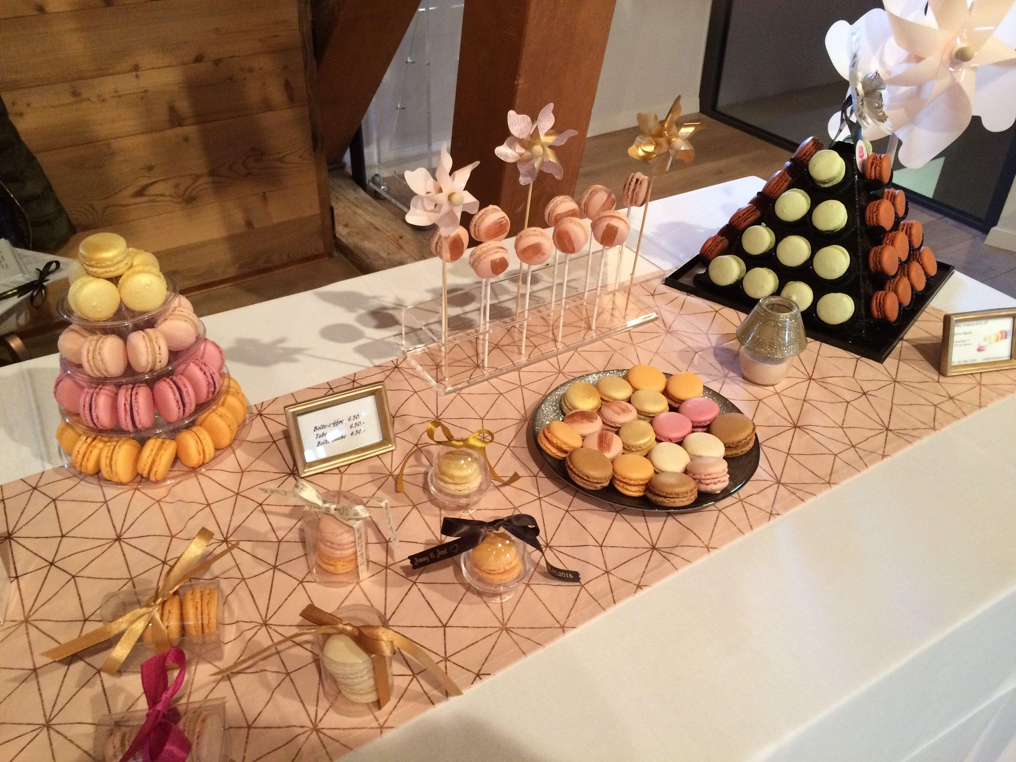 Idées déco macarons pour mariage ou réception
