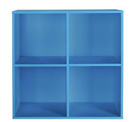 Buy Home Phoenix 2x2 Cube Storage Unit Blue At Argos Co Uk Your Online Shop For Bookcases And Shelving U Cube Storage Unit 4 Cube Storage Unit Cube Storage