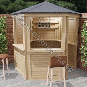Yard Bars  the Castlebar 8x5 by Taverns-to-go | Etsy