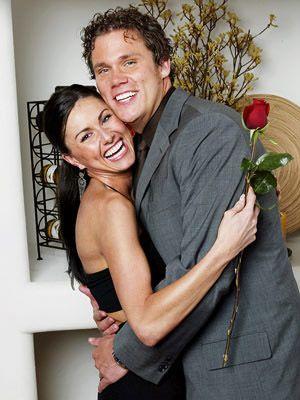 Season 4 Of The Bachelor Bob Guiney And Winner Estella Gardinier