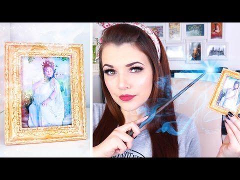 HARRY POTTER DIY | The Fat Lady | Cherry Wallis - YouTube