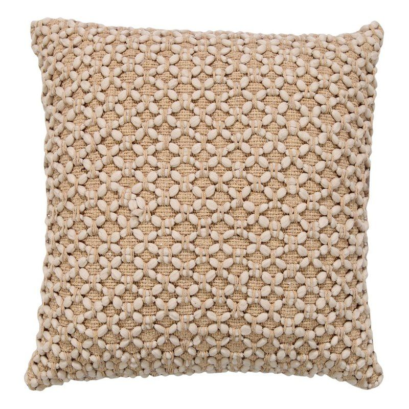 Georgine Braided Throw Pillow In 2020 Throw Pillows