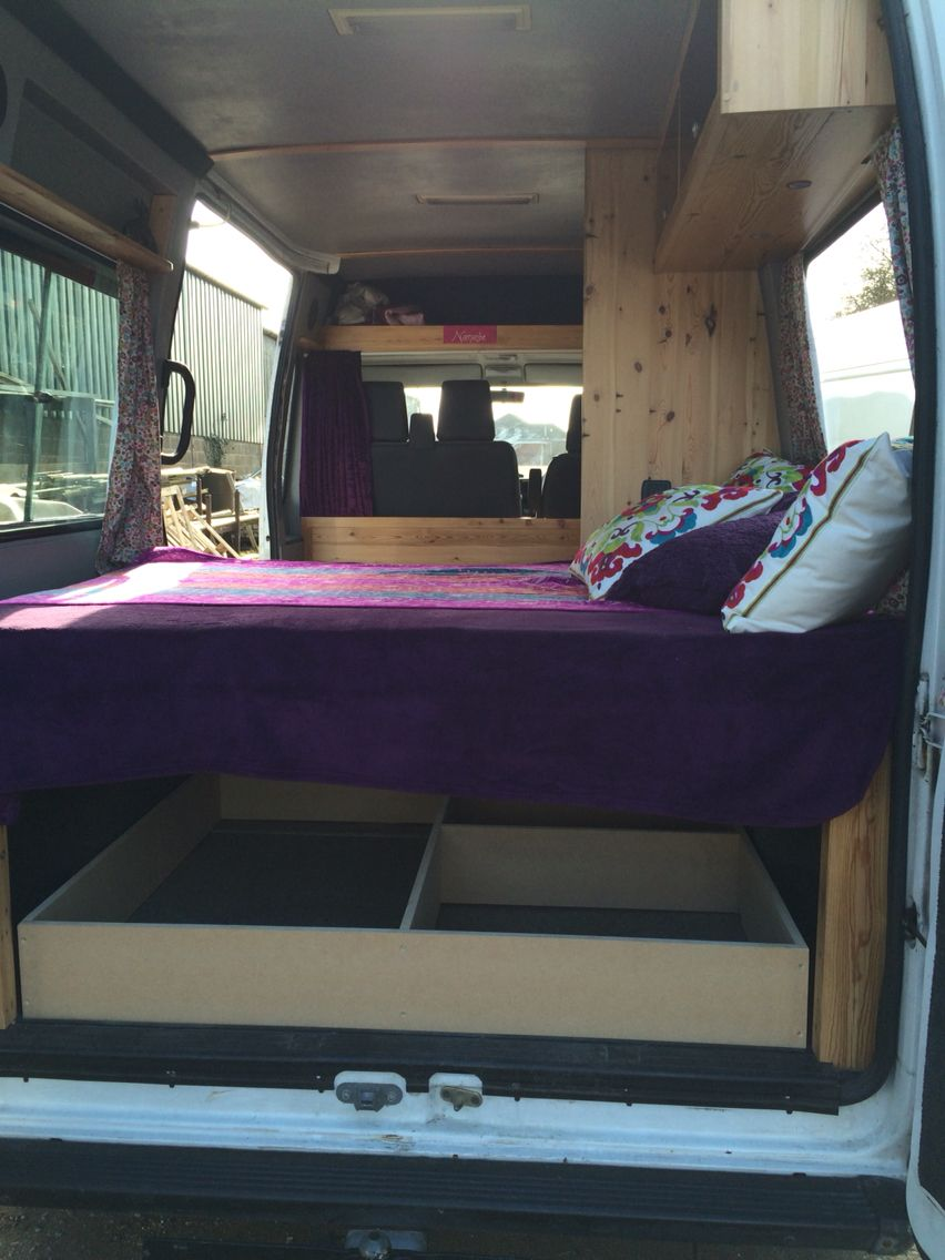 Mini Bus Campervan Ideas Diy Camper Conversion Boxer Peugeot Van Camping Boxers