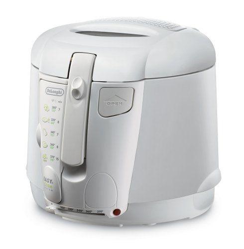 delonghi d677ux 2 1 5 pound capacity deep fryer kitchen rh pinterest co uk delonghi deep fryer manual d34528dz delonghi deep fat fryer instruction manual