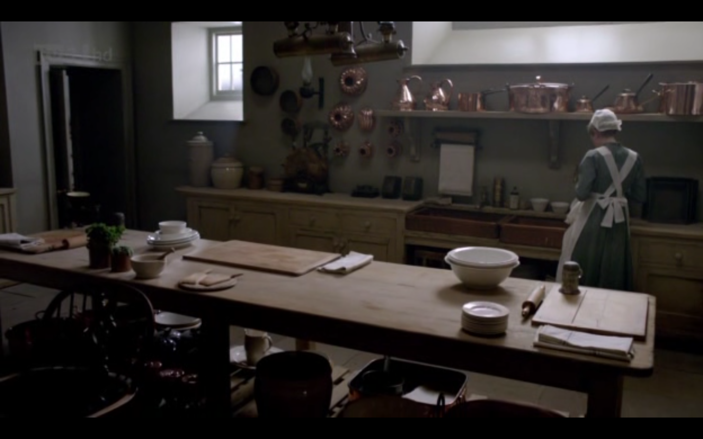 I Want My House To Look Like Downton Servants Quarters  Favorite Magnificent Downton Abbey Kitchen Design Design Decoration
