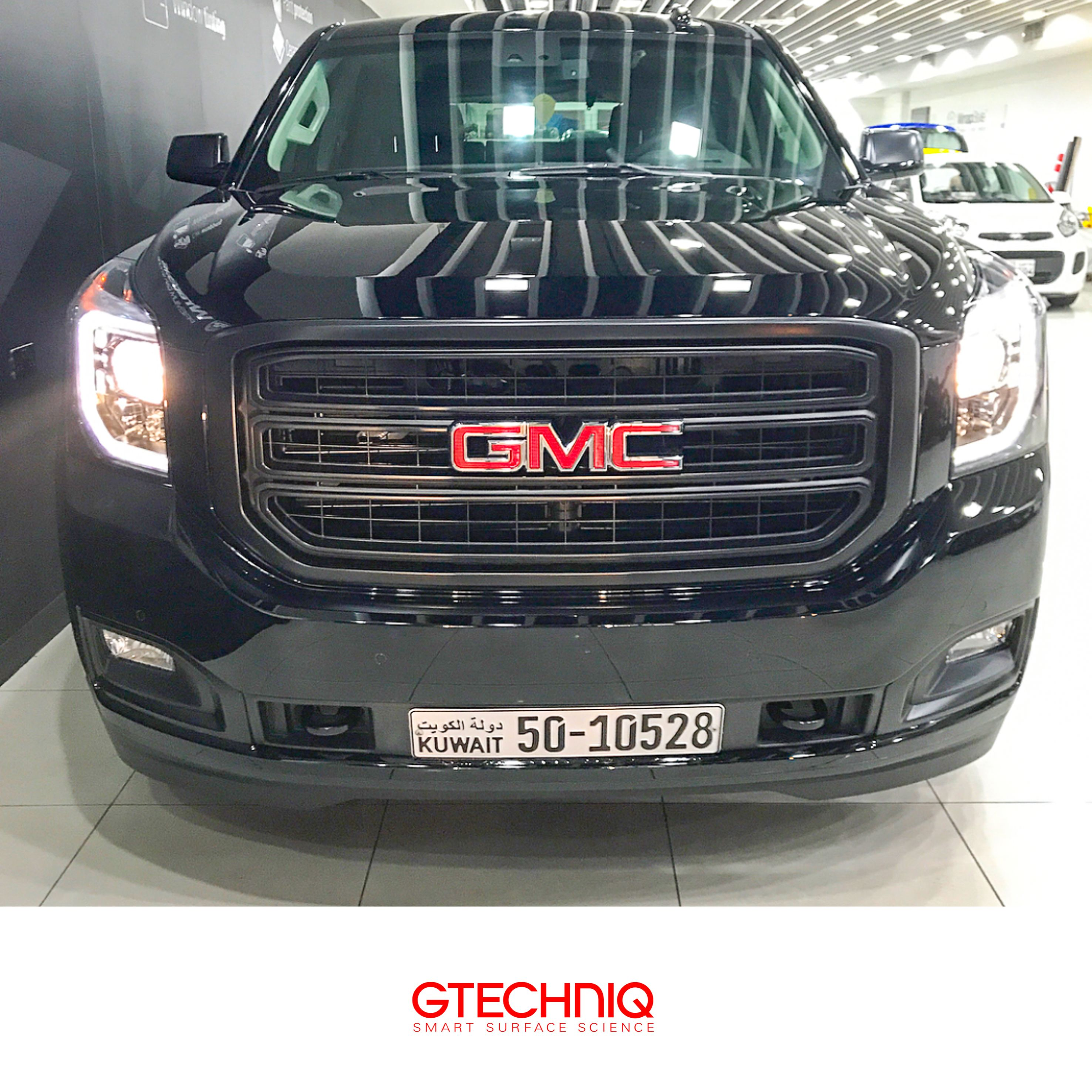 Gmc Yukon Protected By Gtechniq And Our Premium Coating Crystalserum Protection Professionally Applied By Our Accredited Detailer Wrap Super Cars Kuwait Gmc