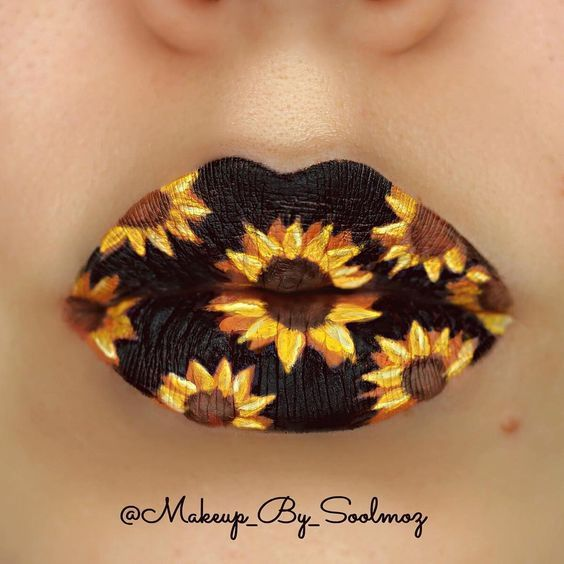 Photo of 20 Jaw-Droppingly Cool Lip Art Looks That You Have to See to Believe