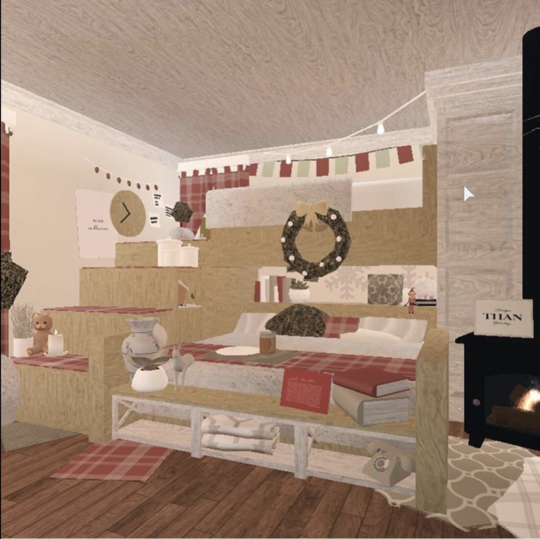 Christmas Room Not Mine 3 House Decorating Ideas Apartments Bedroom House Plans Tiny House Bedroom