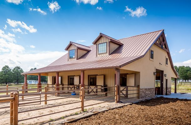 Construction Concerns Fall Protection And Steel Buildings: Metal Building Stable You Will Fall In Love With! (9
